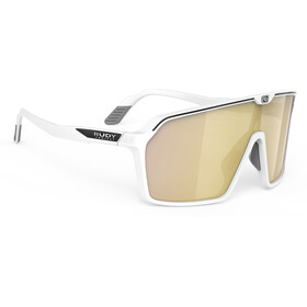 Rudy Project Spinshield Brille white matte/multilaser gold